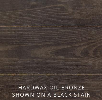 Hardwax-Oil-Bronze-shown-on-a-black-stain